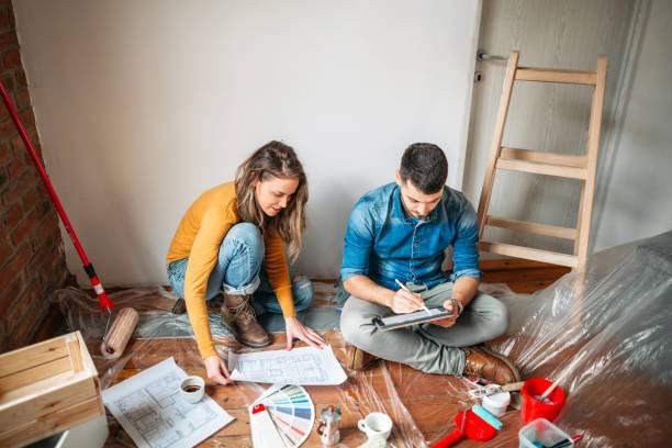 Planung von Eigenheiminvestitionen – Foto