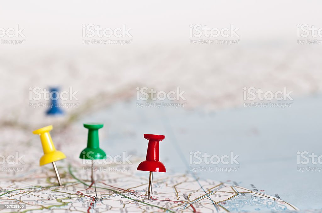 planning next travel destination stock photo