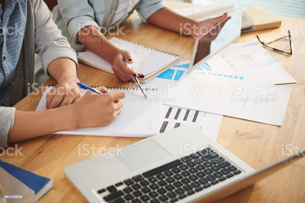 Planning project royalty-free stock photo