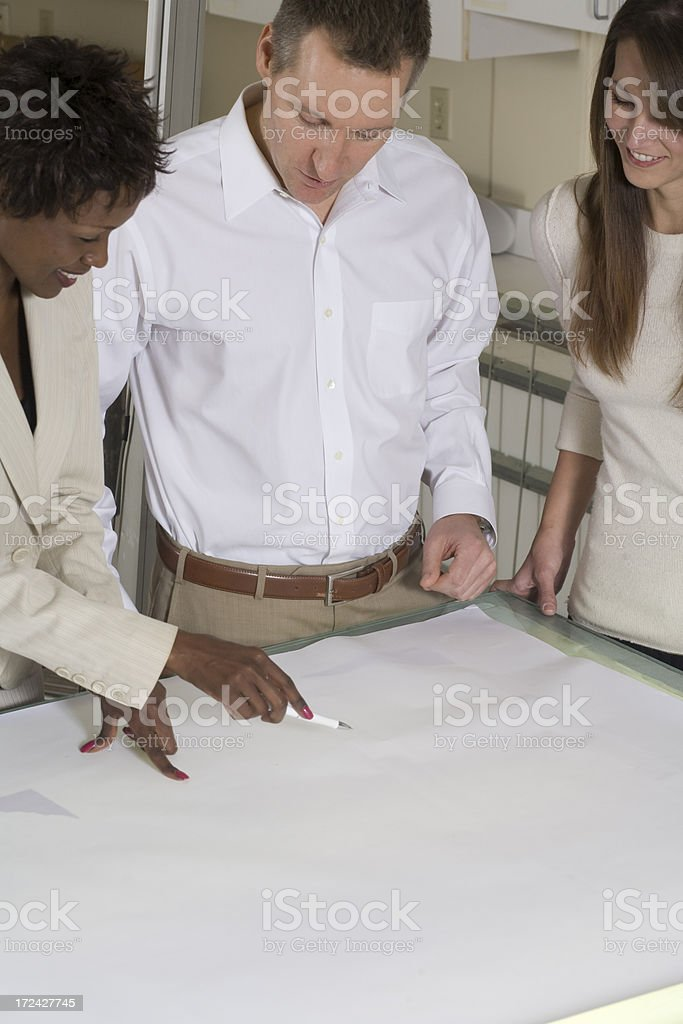 Planning session royalty-free stock photo