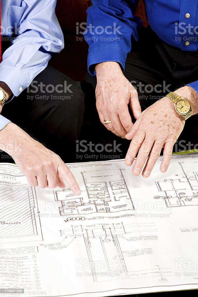 Planning Stage royalty-free stock photo