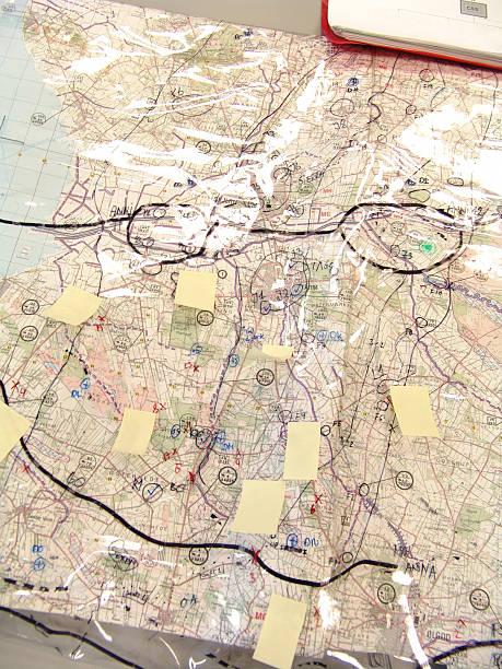 planung & strategie-militär - revierverhalten stock-fotos und bilder
