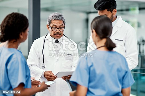 istock Planning their next mission to save lives 1045200354