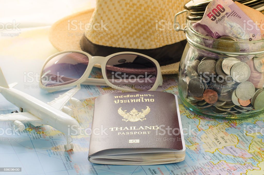 Planning to collect money for the tour. royalty-free stock photo