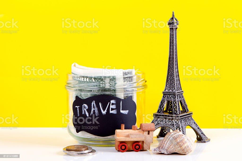 Planning vacation stock photo