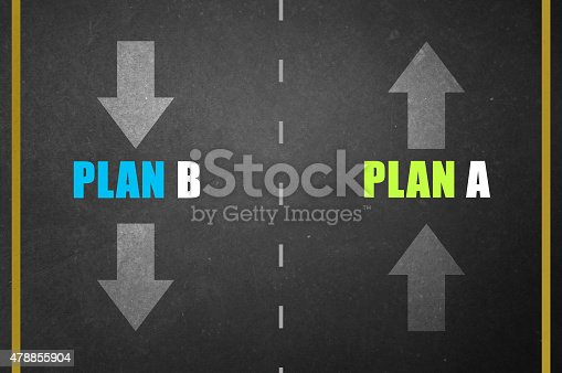 istock Planning with alternatives 478855904