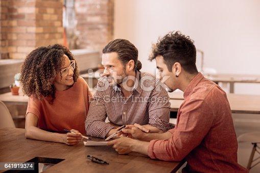 519523970istockphoto Planning with financial advisor 641919374