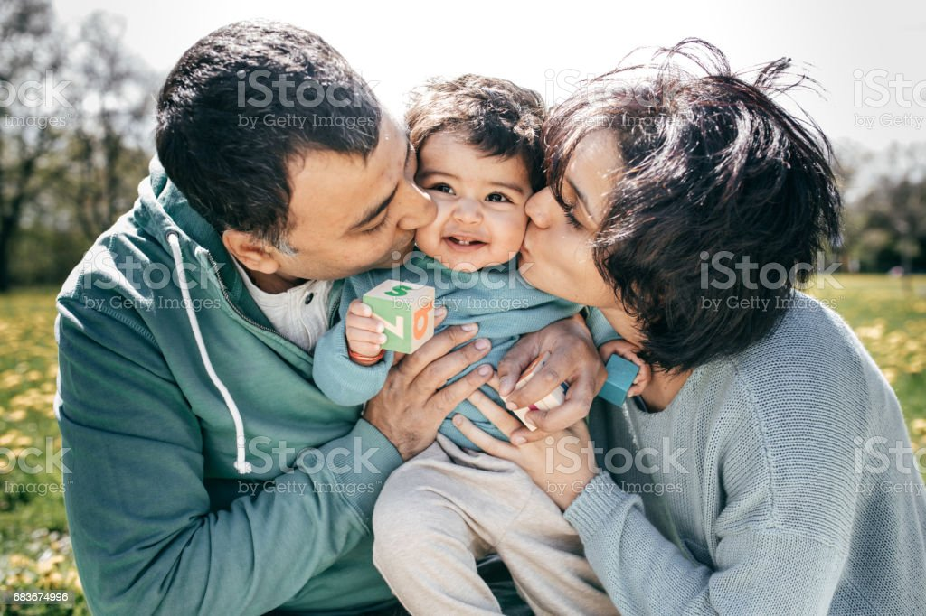 Planning your Child's Future stock photo