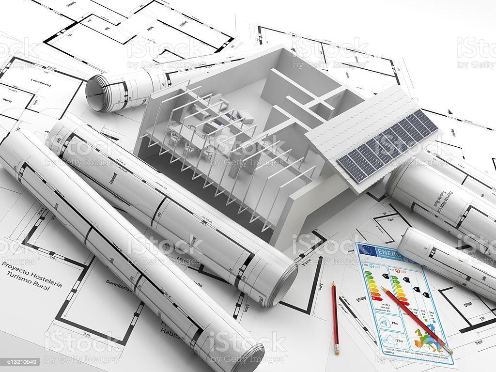 Planos y proyecto construccion energias renovables for Planos de construccion