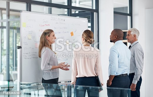 602323380 istock photo Plans come together when they do 1183043247