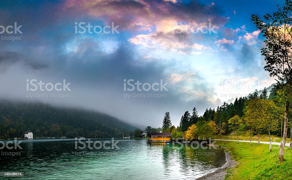 Plansee stock photo