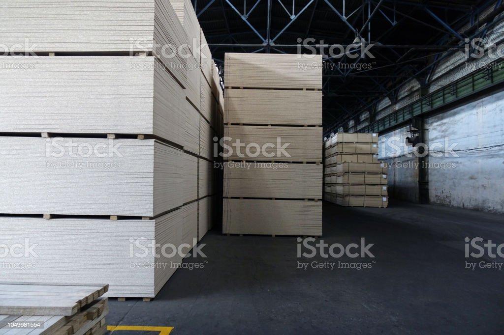 Production plant business wood