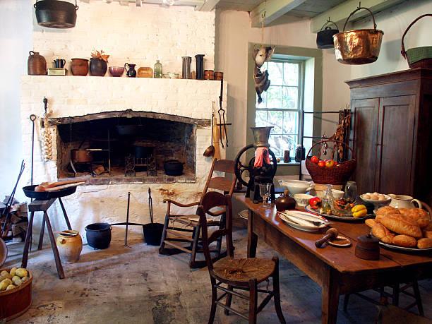 Plantation Kitchen stock photo