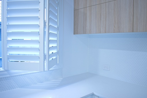 Plantation Shutters Stock Photo - Download Image Now - iStock