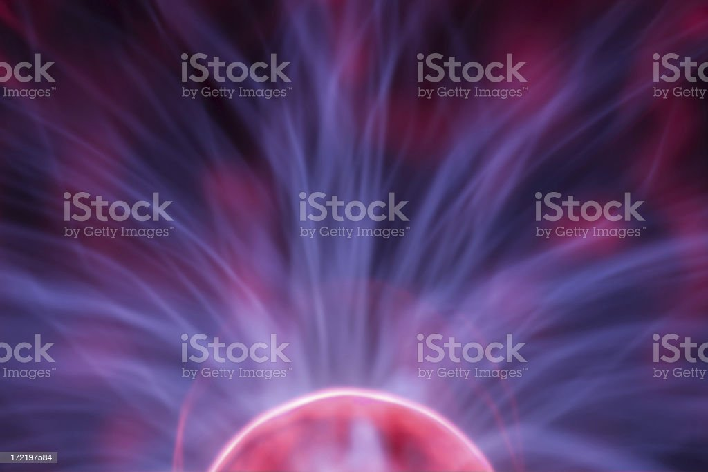 plasma power three royalty-free stock photo
