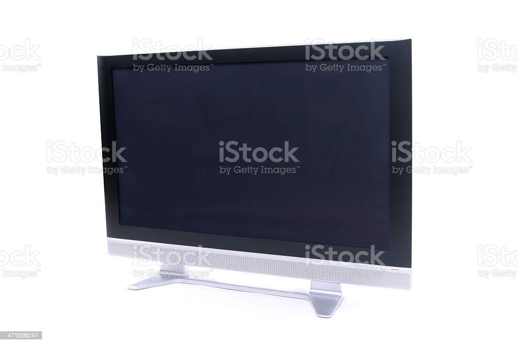 Plasma TV 1. royalty-free stock photo