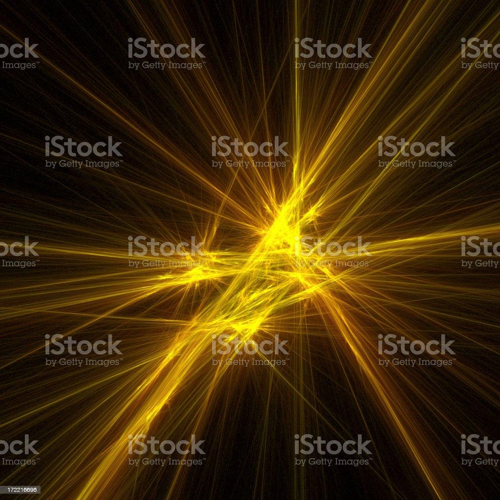 PlasmaLights™ Starshine royalty-free stock photo
