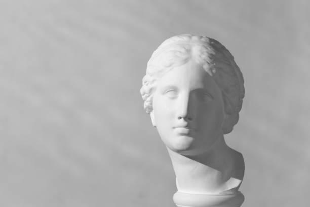 Tête en plâtre d'Aphrodite - Photo