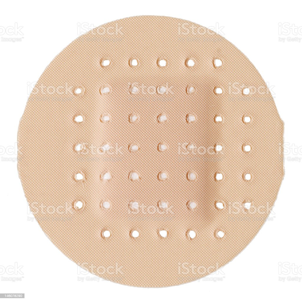 Plaster isolated stock photo