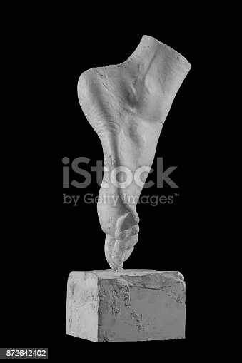 665487076istockphoto plaster limb foot feet with fingers, body part 872642402
