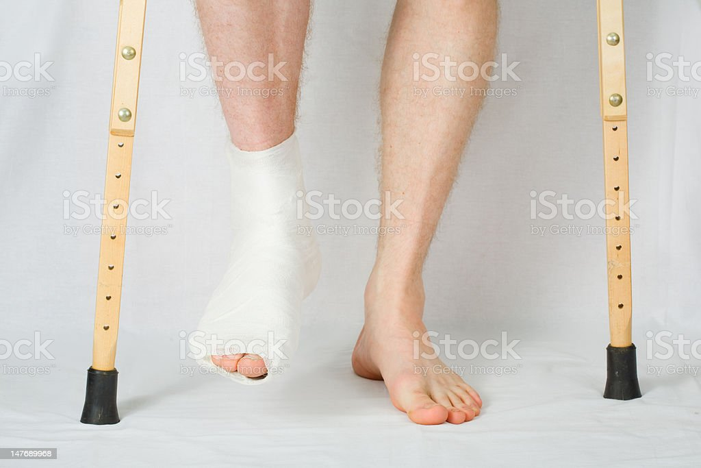 Plaster stock photo
