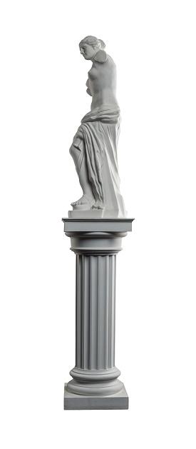 868667742 istock photo plaster sculpture of Venus on a white background, gypsum 868663074