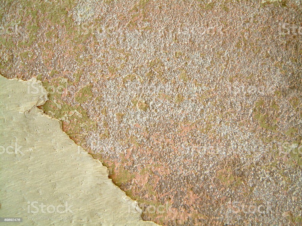 Plaster texture from wall in Havana. royalty-free stock photo