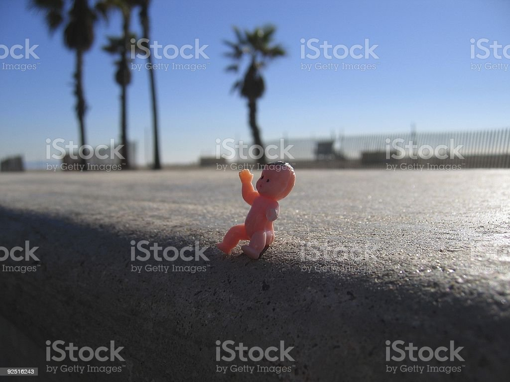 plastic baby royalty-free stock photo