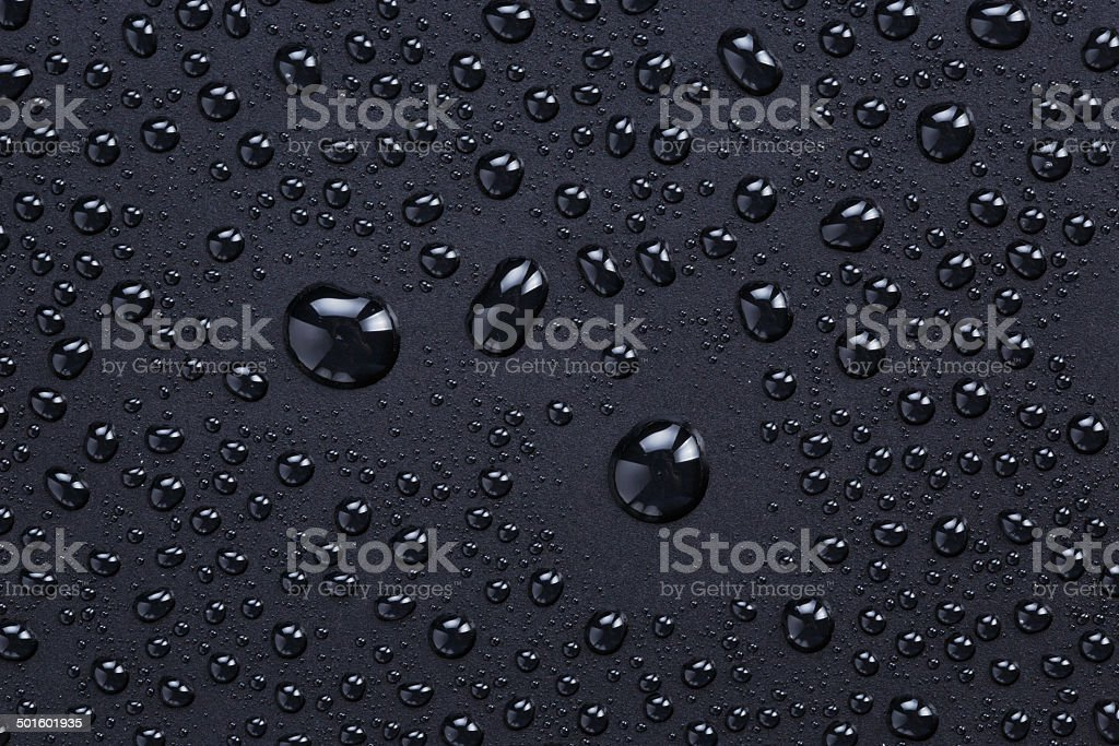 plastic background with lotus effect stock photo