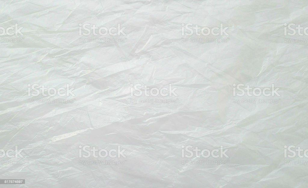 Plastic bag background stock photo