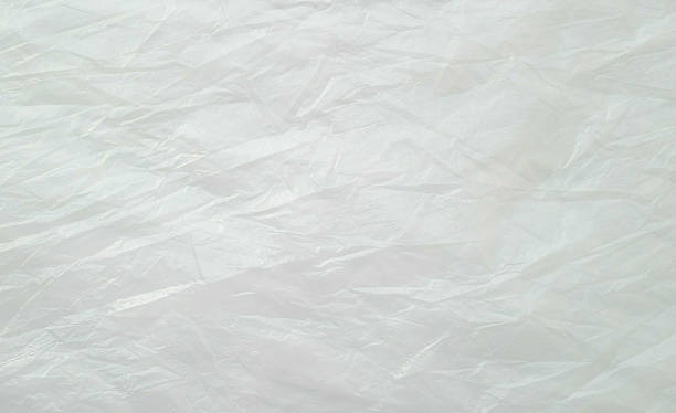 Plastic bag background stock photo