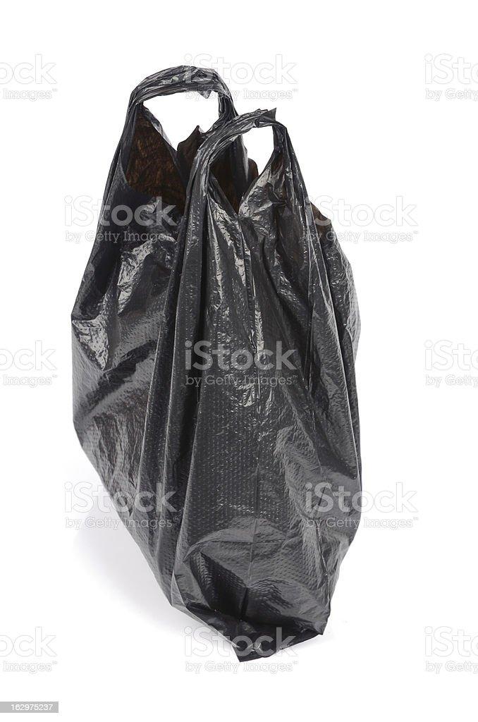 Plastic bag royalty-free stock photo