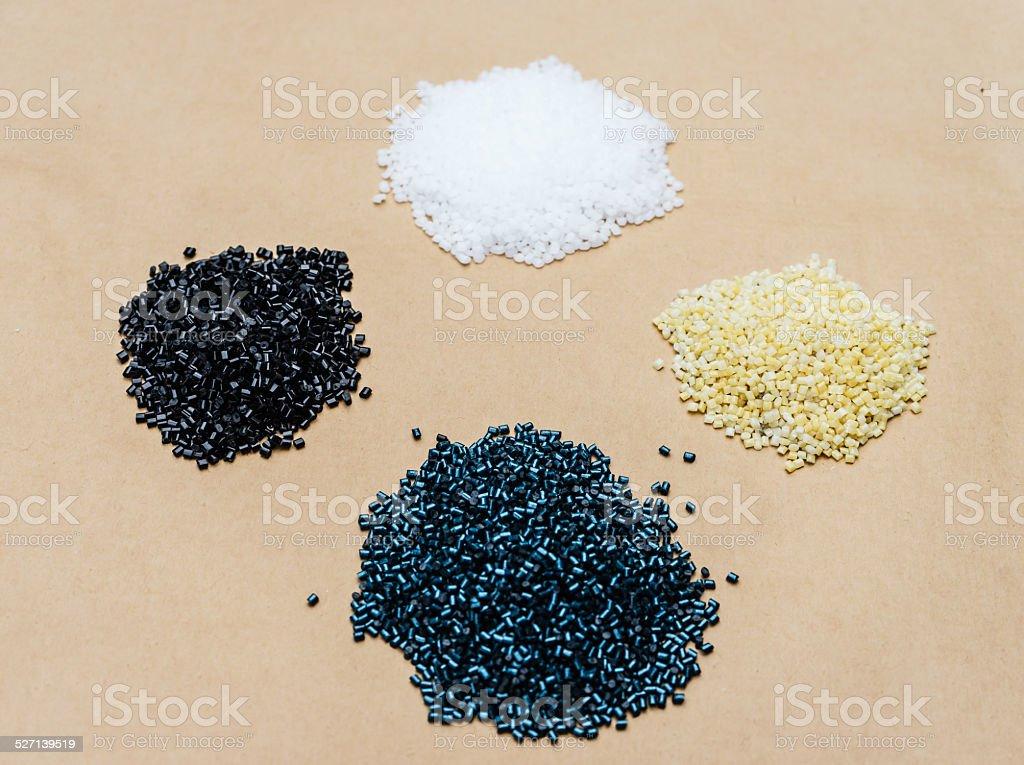 plastic beads stock photo