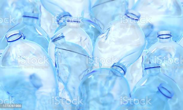 Photo of Plastic bottle 3d rendering