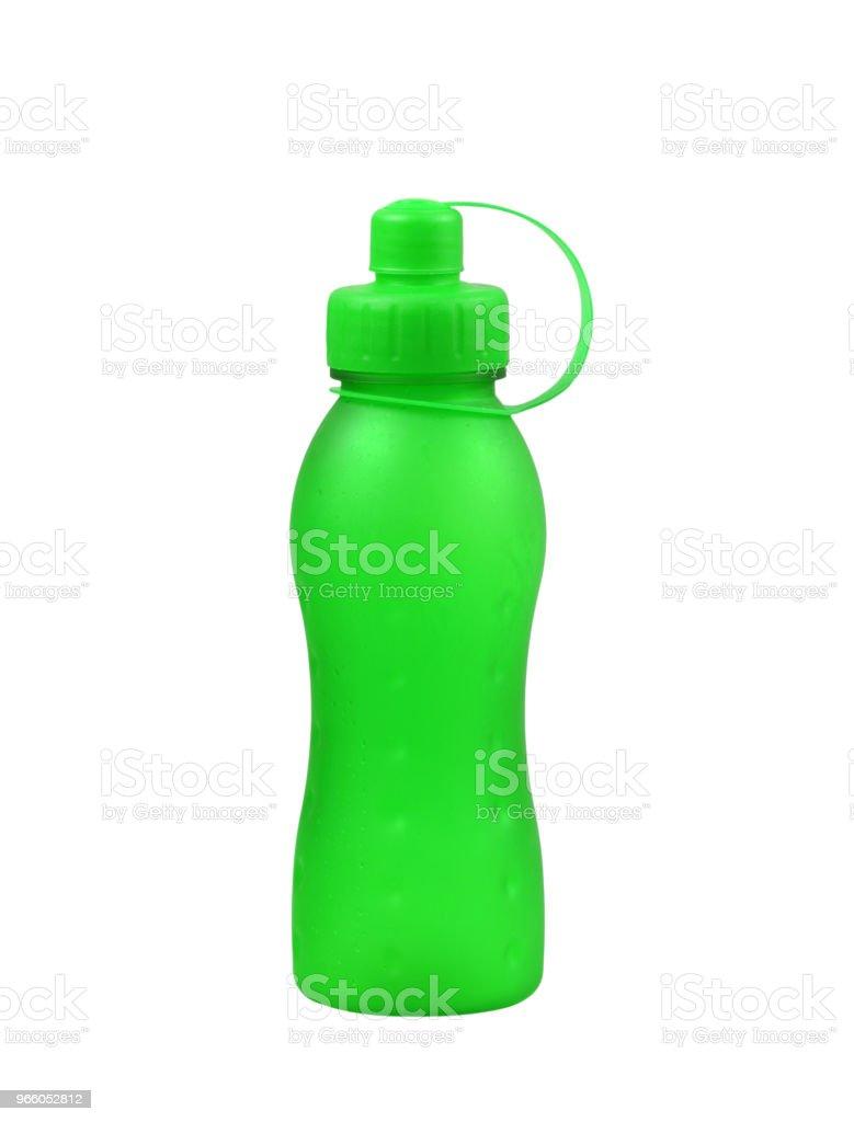 Kunststoff-Flasche auf weißem Hintergrund. - Lizenzfrei Atelier Stock-Foto