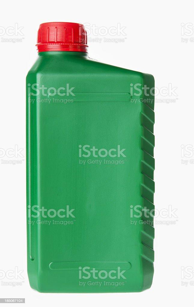 Plastic bottle on white stock photo