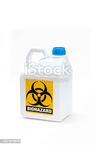 istock Plastic bottle product concept White background with accessories. 1057675576