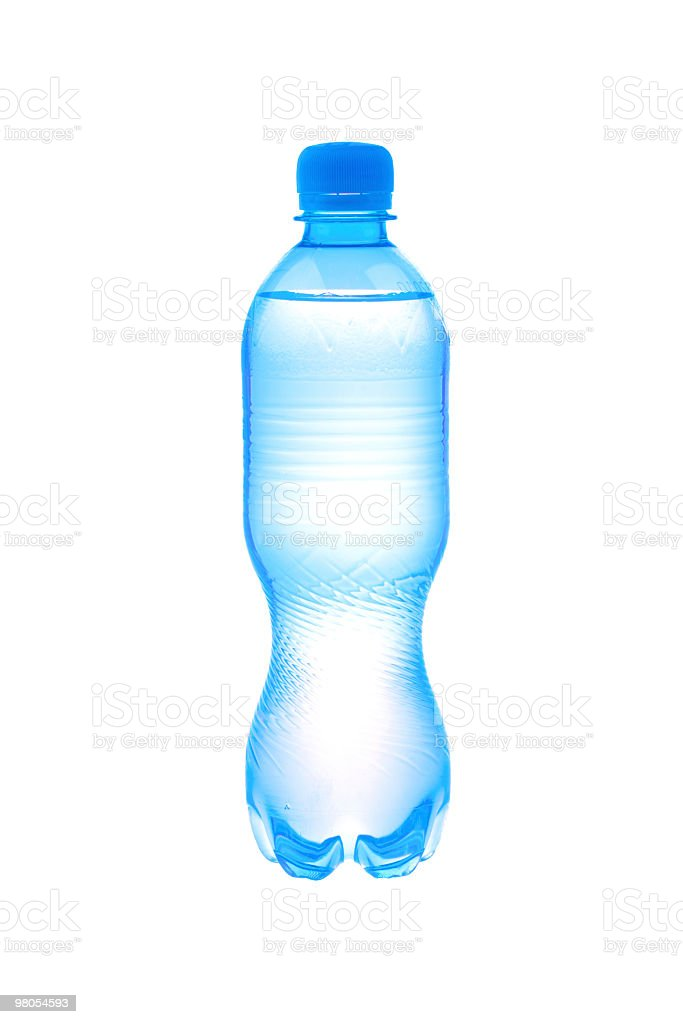 Plastic bottle with water royalty-free stock photo