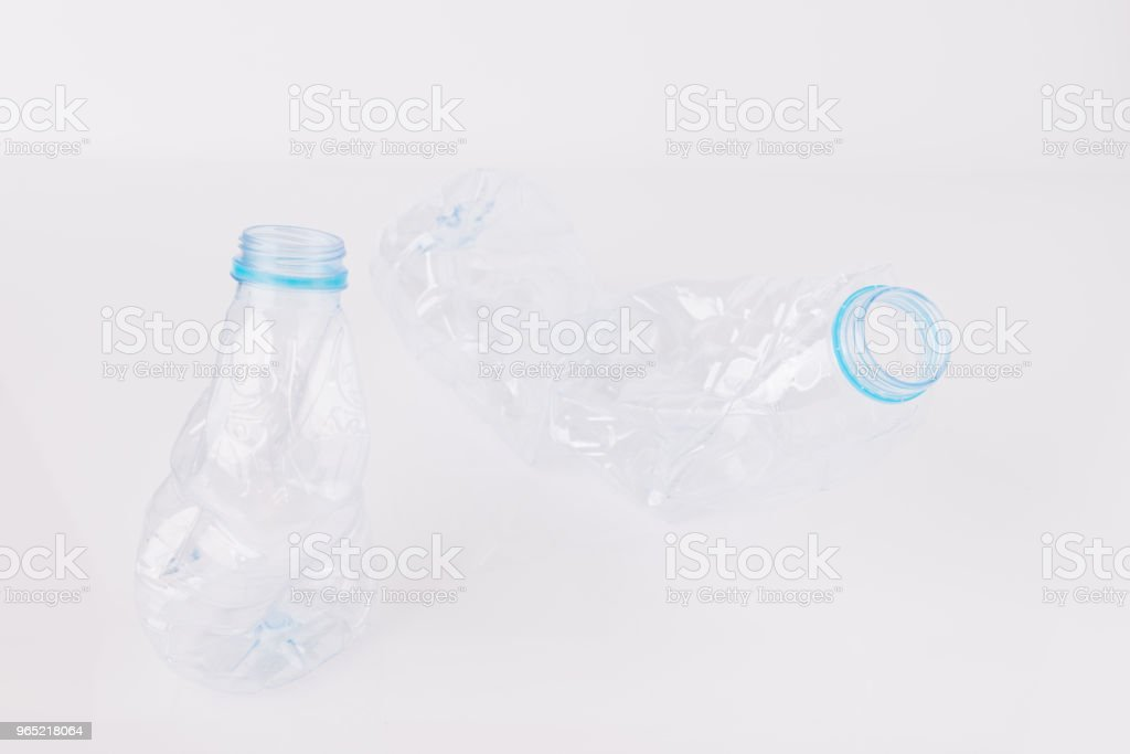 Plastic bottles for the recycle royalty-free stock photo