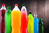 各種炭酸飲料のペットボトル