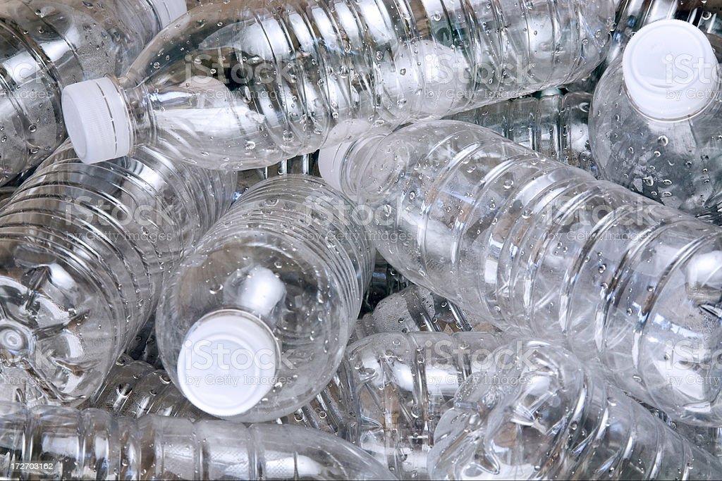 Plastic Bottles royalty-free stock photo