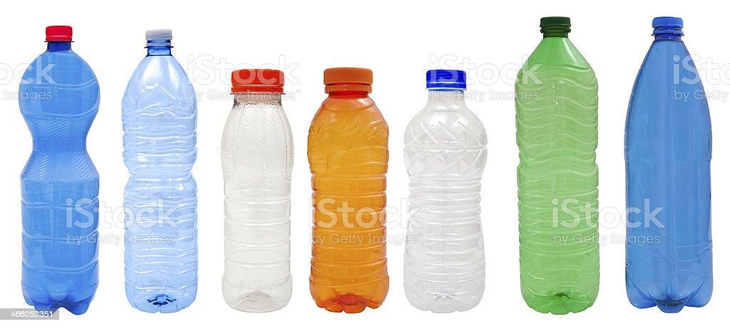 Bouteilles en plastique - Photo