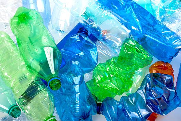 Kunststoff-Flaschen – Foto