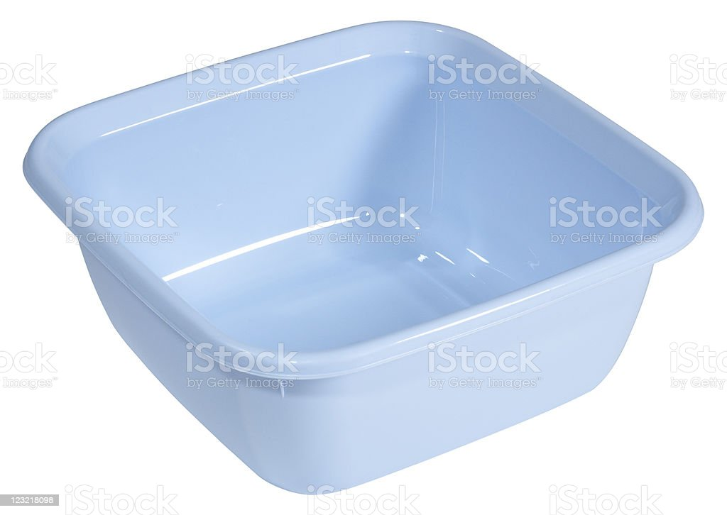 Plastic Bowl stock photo