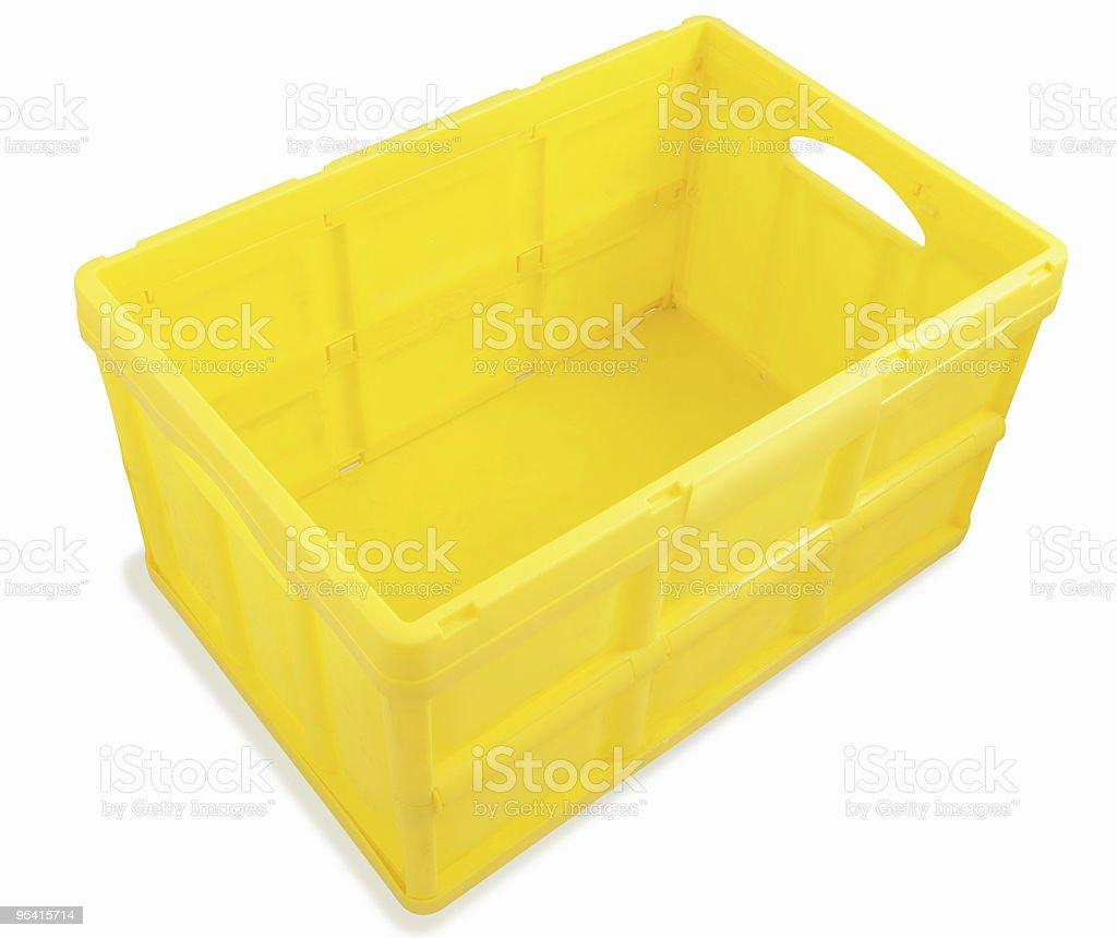Kunststoff-box Lizenzfreies stock-foto