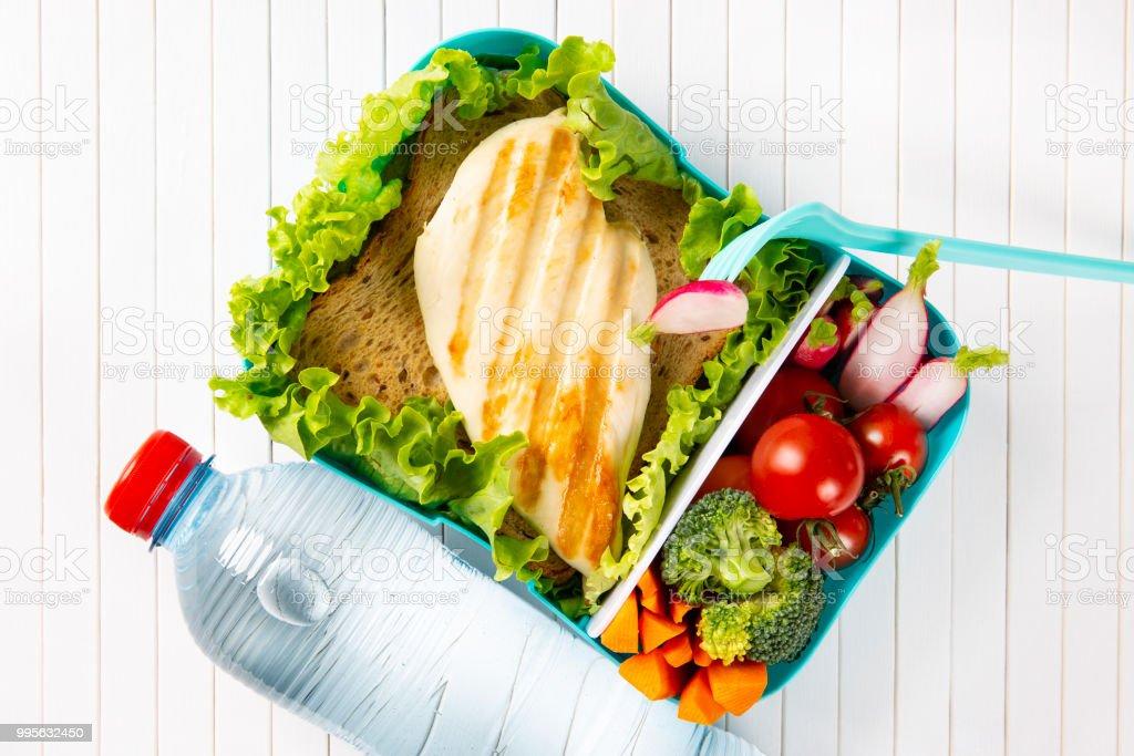 water and chicken diet