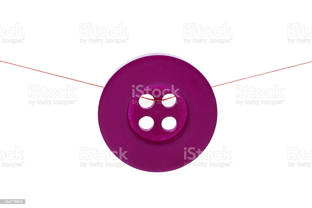 Plastic button royalty-free stock photo