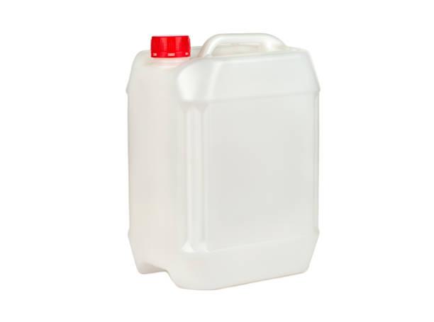plastic canister isolaat - voorraadbus stockfoto's en -beelden
