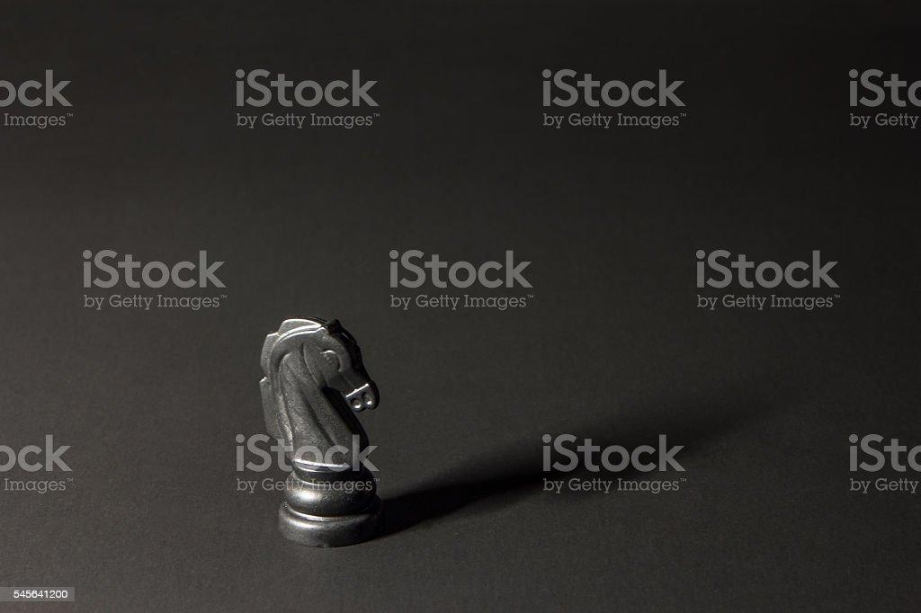 plastic chess pieces stock photo