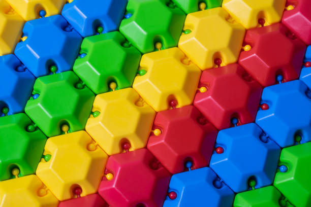 Plastic colorful puzzle constructor. Can be used as a colorful background Plastic colorful puzzle constructor. Can be used as a colorful abstract background deem stock pictures, royalty-free photos & images